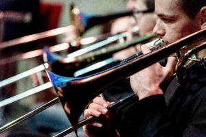 200125 DJO Nieuwjaarsconcert trombonel - fotografie Jan Koorneef