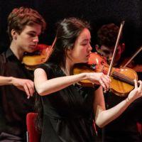 200125 DJO Nieuwjaarsconcert viool - fotografie Jan Koorneef