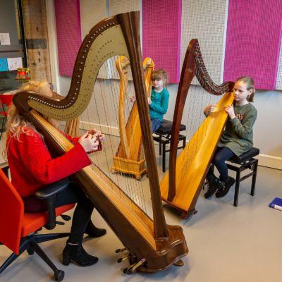 201125 Muziek HarpKlas harp-Fotografie P, Verheijen