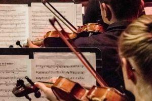 200125 DJO Nieuwjaarsconcert viool- fotografie Jan Koorneef